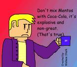 Mentos-Cola