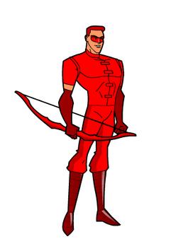 Arqueiro Vermelho (DCHF)