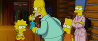 Homer refusing to go back to Springfield