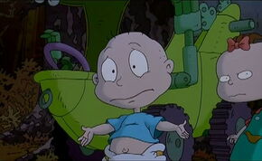 Tommy Pickles argues with friends