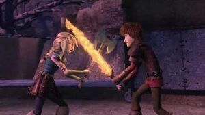 Dragons race to the edge season 5 Clip Hiccup and Astrid fight