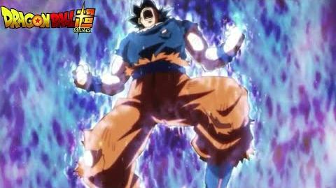 Goku's Battle Cry - Blows Jiren Away Dragon Ball Super Episode 129 CLIP HD!!!