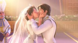 Rapunzel and Flynn Rider Married