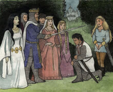 Being Knighted
