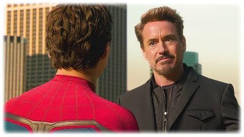 Spiderman vs iron man Argument Scene - Spider-Man Homecoming 1080p HD Movie Clip (2017)