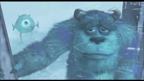 Monsters Inc Sulley and Mike get banished