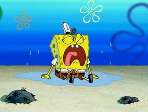 Spongebob Heartbroken