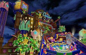 The Casino Night Zone