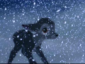 Bambi sad