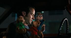 The Chipmunks reconcilling Dave