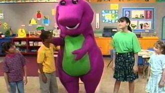 Barney Falling Down on his Tail