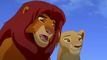 Simba warns Kiara not to go where the Outsiders live