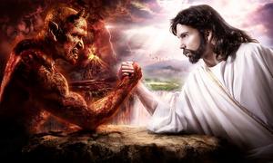 Satan-vs-god