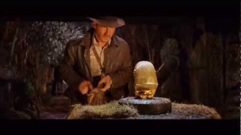 Indiana Jones Raiders Of The Lost Ark - Famous Scene