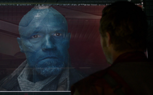 Peter Quill getting in trouble with Yondu