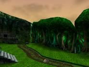 Isle O' Hags (wooded hollow)