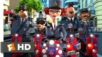 Madagascar 3 (2012) - Is There a Problem, Officer? Scene (2 10) Movieclips