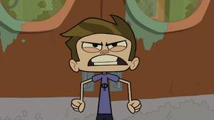McGee angry