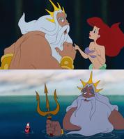 King Triton Two-sides