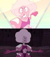Pink Diamond two sides
