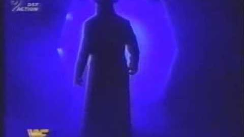 The Undertaker entrance at SummerSlam 1994