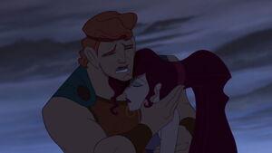 Hercules crying