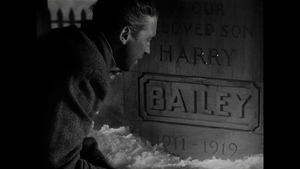 Its a wonderful life george at harrys grave