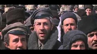 Doctor Zhivago - Bolshevik deserters stand up to Imperial Russian Army officers