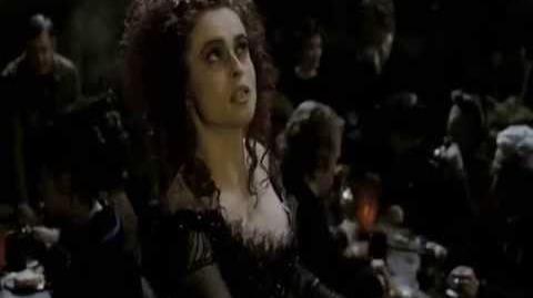 """God, That's Good!"" - Sweeney Todd - The Demon Barber of Fleet Street (2007) - Helena Bonham Carter"
