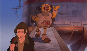 Jim and Doppler leaves Montressor
