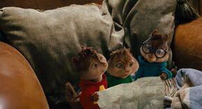 Alvin, Simon and Theodore heartbroken