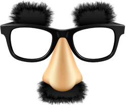 Groucho-glasses
