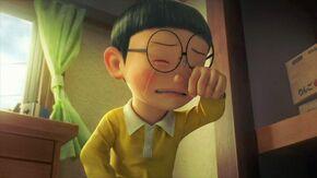 Nobita nobi crying
