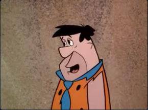 Fred Flintstone guilty