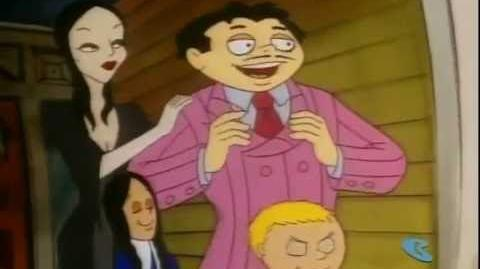 The Addams Family Wednesday and Pugsley use booby traps to capture Mrs. Quaint