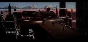 Rebels escape Cloud City