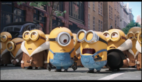 Minions think Kevin died