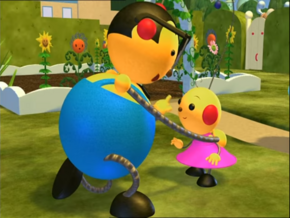 Percy Polie apologizes to Zowie about saying the 3D word