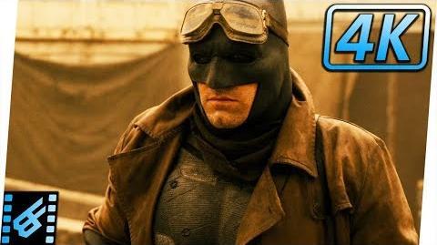 Batman's Nightmare Scene Batman v Superman Dawn of Justice (2016) Movie Clip