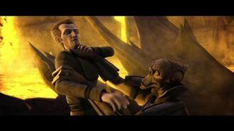Star Wars Clone Wars Ahsoka Kills Osi Sobeck and Saves Tarkins Life HD