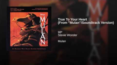 "True To Your Heart (From ""Mulan"" Soundtrack Version)"