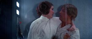 Luke and Leia swings