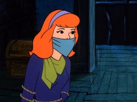 Daphne Blake tied up