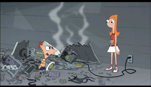 Phineas mad at Candace
