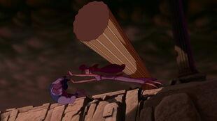 Megara's sacrifice