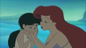 Ariel reconciles Melody