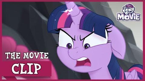 Twilight Yells at Pinkie (And Gets Captured by Tempest) My Little Pony The Movie Full HD