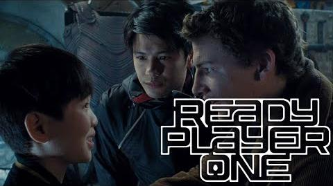 Ready Player One (2018) HD - Parzival meets Aech, Daito and Sho