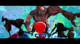 "Spider Man- Into The Spider Verse- ""Spider Ham vs Scorpion"" (Clip)"