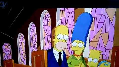 Grampa Abe Simpson's church rant